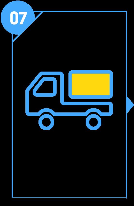 廃材の運搬処分 解体で出た廃材などを運搬処分し、きれいに掃除いたします。